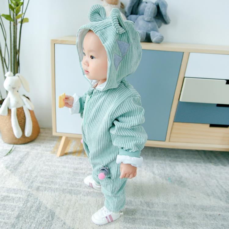 Cute Kids Long Sleeve One Piece Romper Jumpsuit