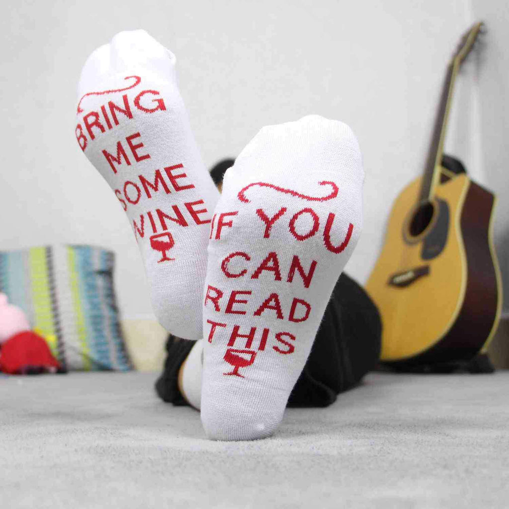 3pcs Women Letter printed christmas socks