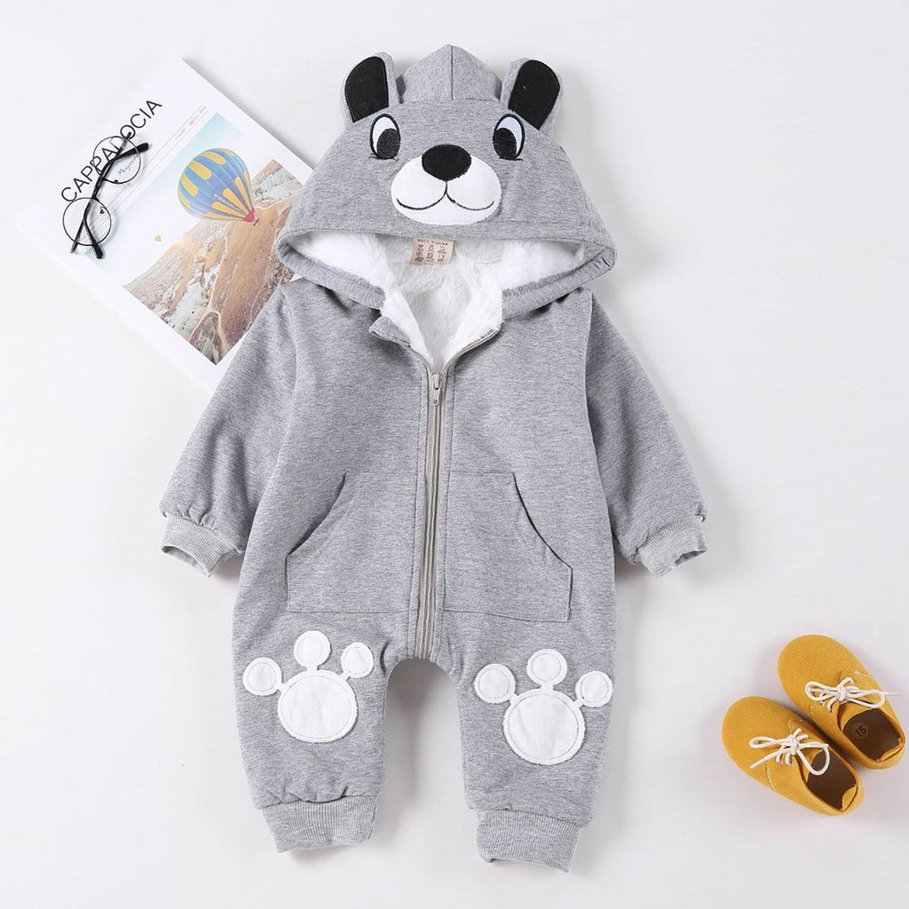 Baby Romper Suit Infants and Young Children Cartoon Baby Climb Clothes Go Out Take The Infant Child Clothing Climb Clothes