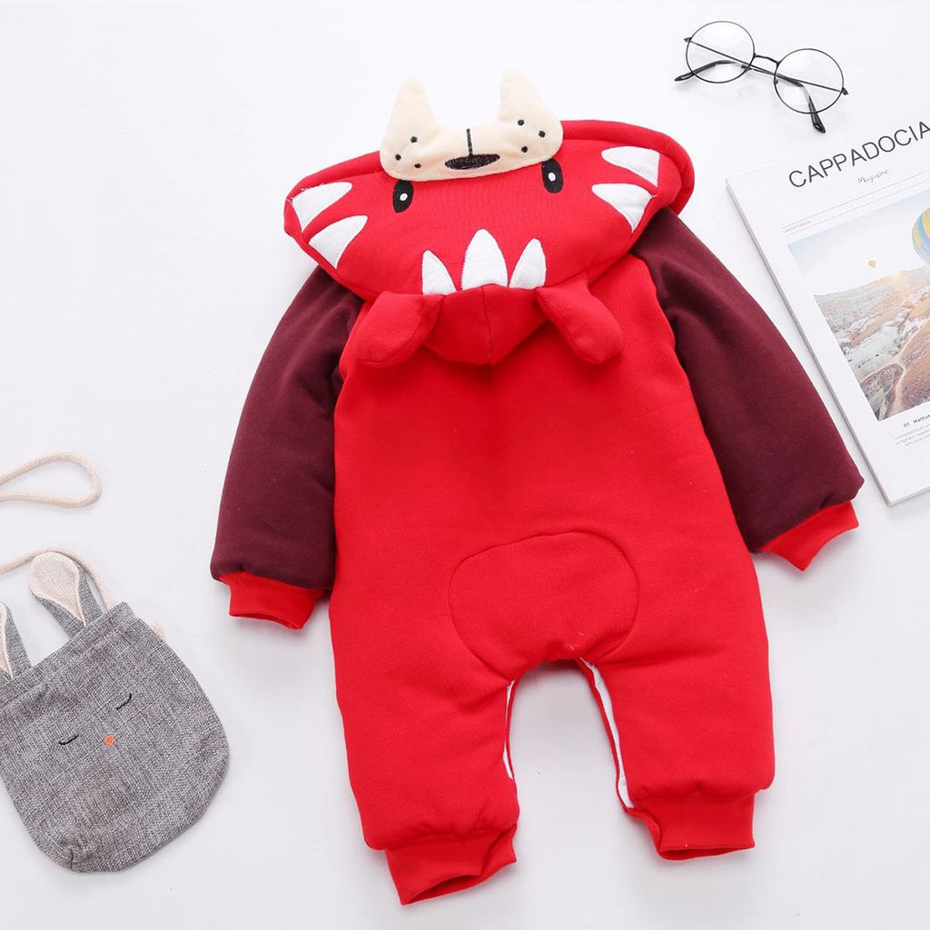 Baby Cartoon Animal Infant Crawling Suit Casual Sleepwear