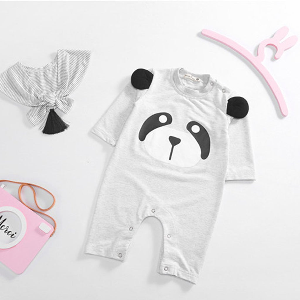 Cute Newborn Baby Boy Girl Romper Bodysuit Jumpsuit Summer One Piece Romper 0-24M