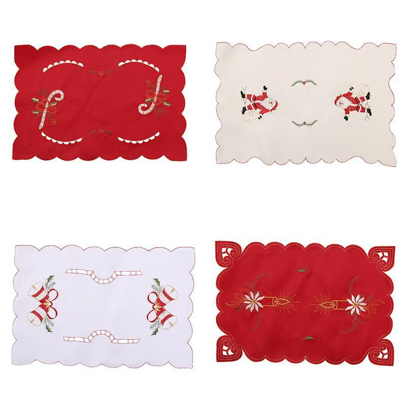 Christmas Decorations Santa Placemat Desktop Dress Up