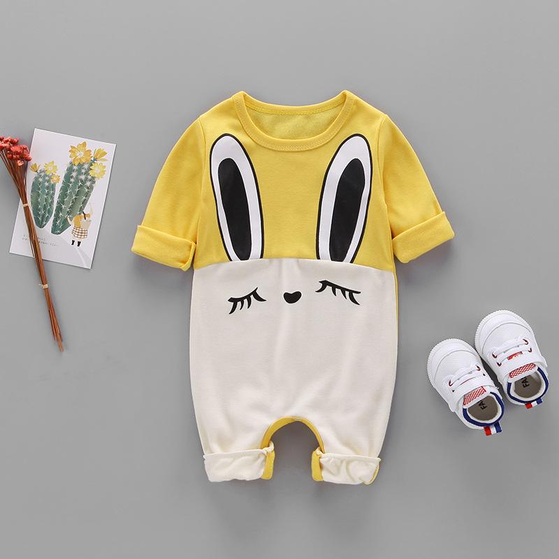 Baby Girls Boys Cute Short Sleeve Jumpsuit