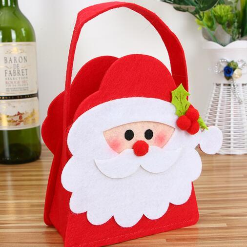 Santa Claus Gift Bag Candy Sweet Baby Christmas Gift Bags