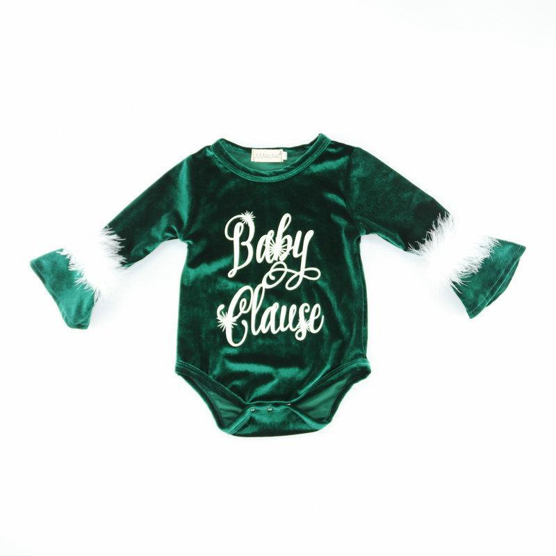 Baby Long Sleeve Christmas Lovely Polyester Jumpsuit 3-24m
