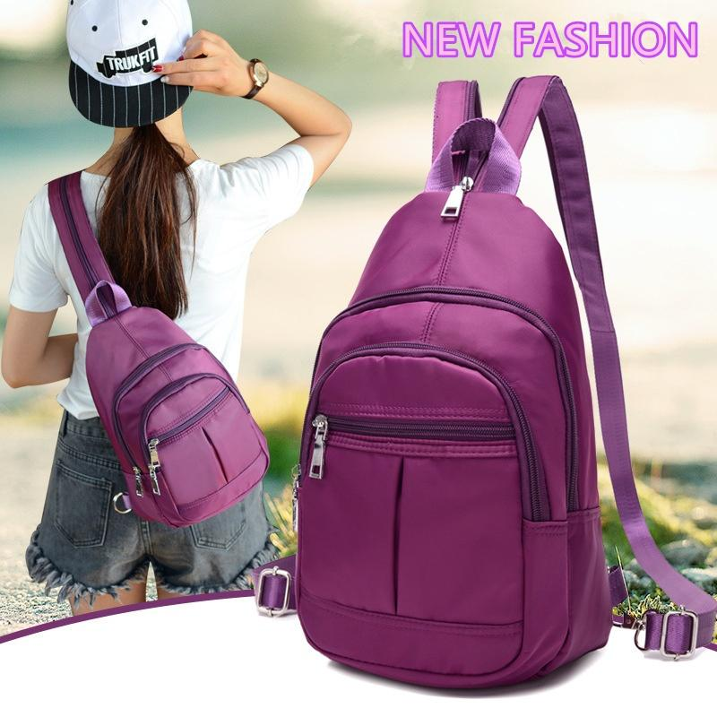 Waterproof Women Backpack Nylon Crossbody Bag Messenger Shoulder Bag outdoor backpack