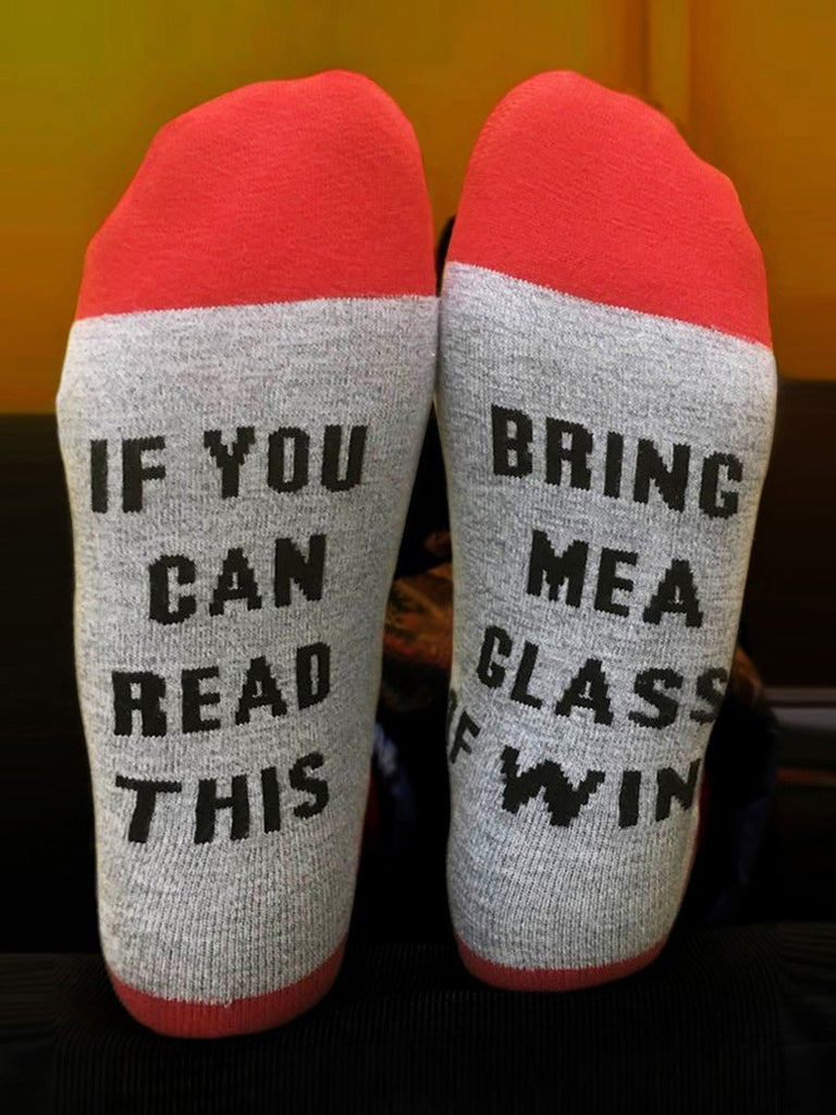 If You Can Read This Socks 2