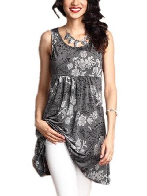 Floral Printed Sleeveless dress 11 Colors S-5XL For Your Choices