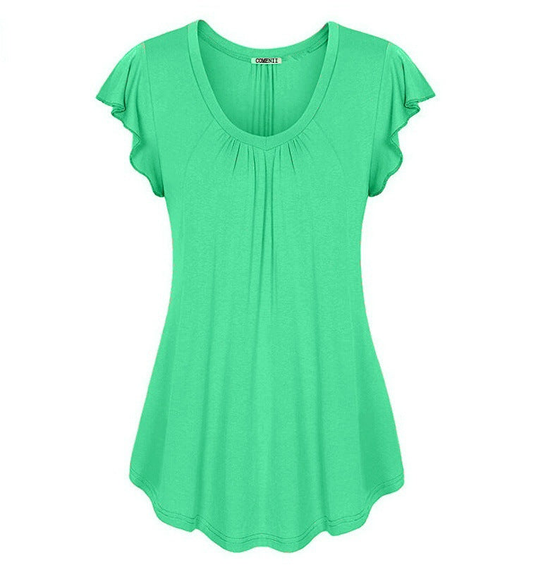 Women's O-neck Sleeveless Tops S-XXXXXXL