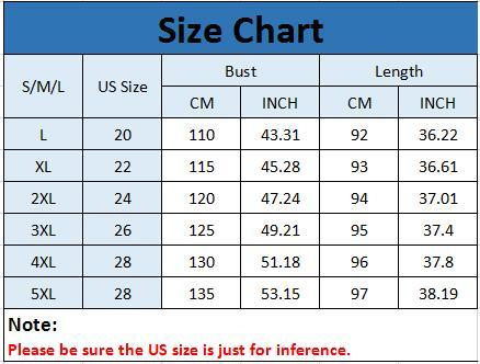 Plus Size Women Fashion Blouse Casual Loose Floral Printed Dress
