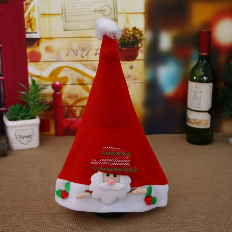 New Christmas Decorations Hats Snowman Decorating Christmas Hat-4PCS