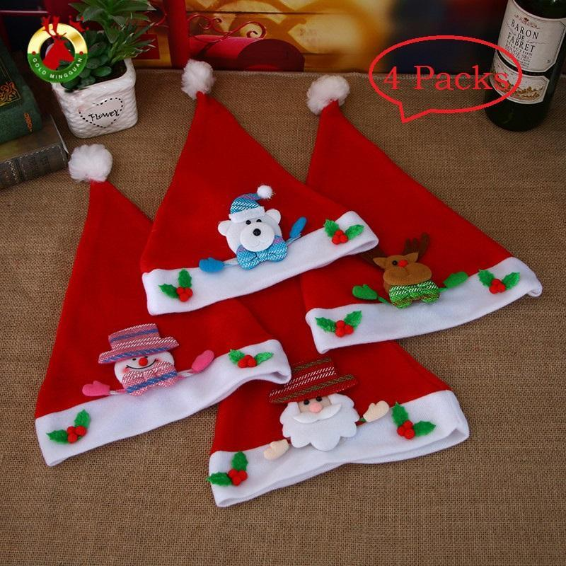 New Christmas Decorations Hats Snowman Decorating Christmas Hat