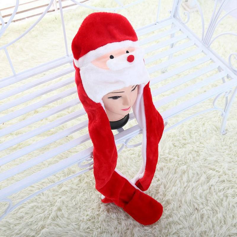 Christmas Hat Santa Claus Christmas decoration for home funny New Year hat party Merry Christmas gifts