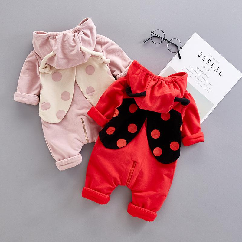 Baby Boys Girls Cute Cartoon  Autumn jumpsuit Outfits