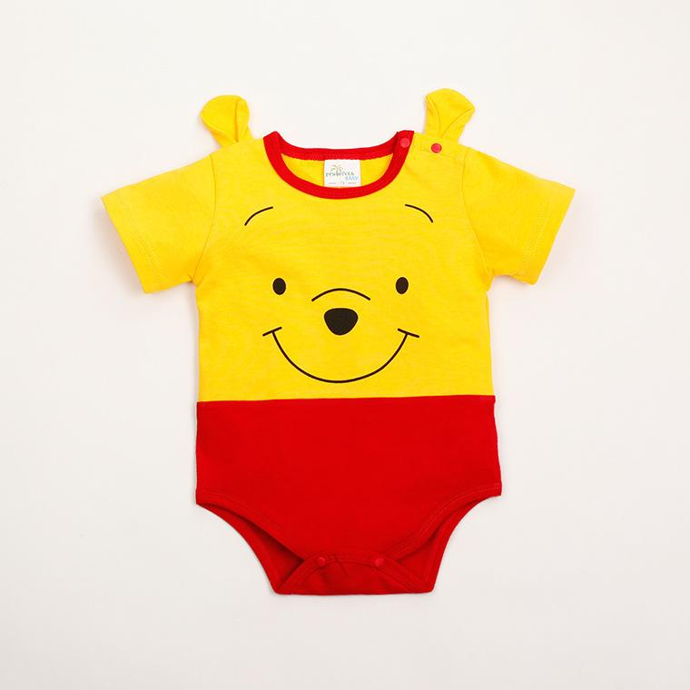 Cute Cartoon Baby's Clothing CottonTriangle Jumpsuit