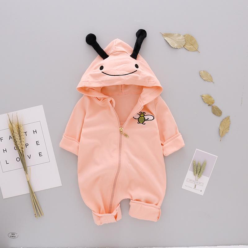 Baby Boys And Girls Cute  Coat Clothes Jumpsuit
