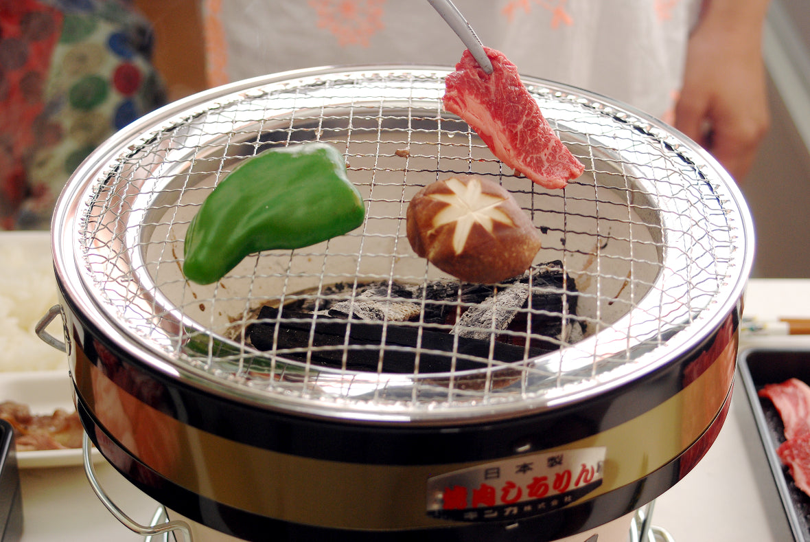 Let's Enjoy Authentic Grilled Food with Japanese Shichirin Grill!