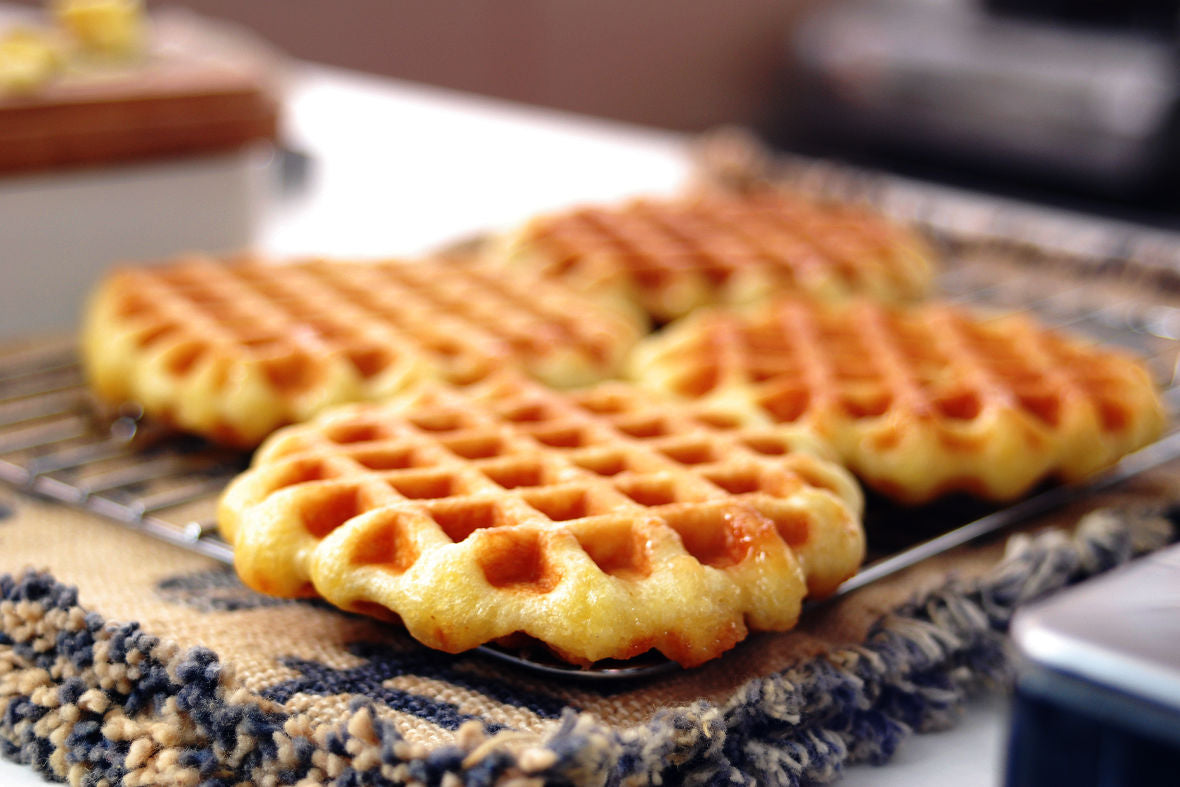 Nothing is Better than Freshly Baked Waffles! Let's Make Waffles!