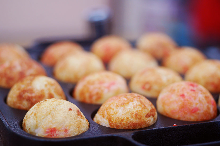 Let's provide appropriate care to make the pan lasting longer and enjoy delicious Takoyaki.