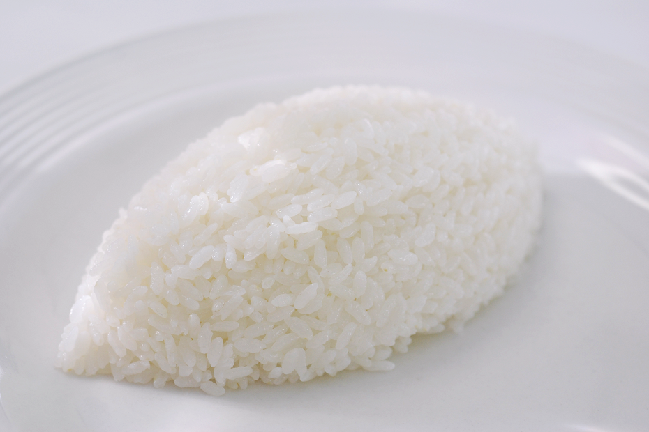 Melon-Shaped Rice