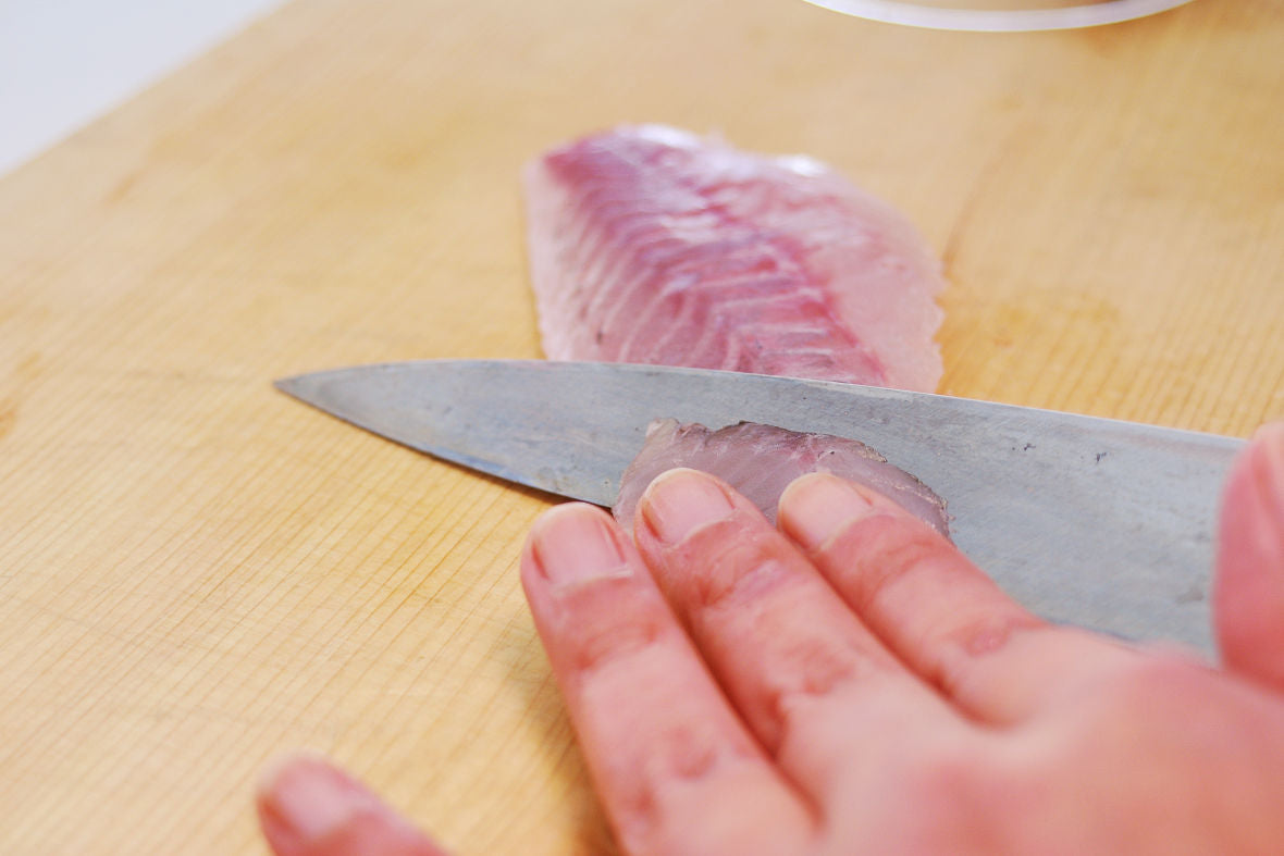 Prepare your favorite seafood such as tuna and salmon.