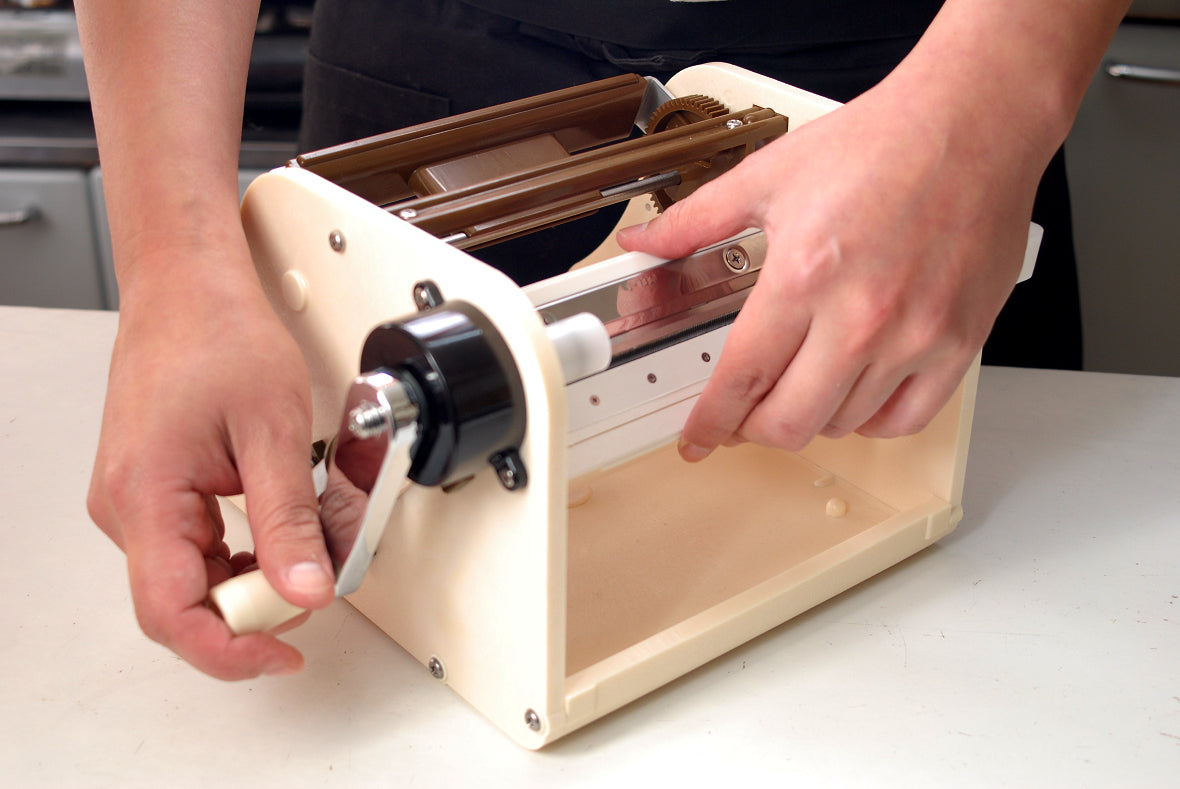 Set the adaptor in the slicer