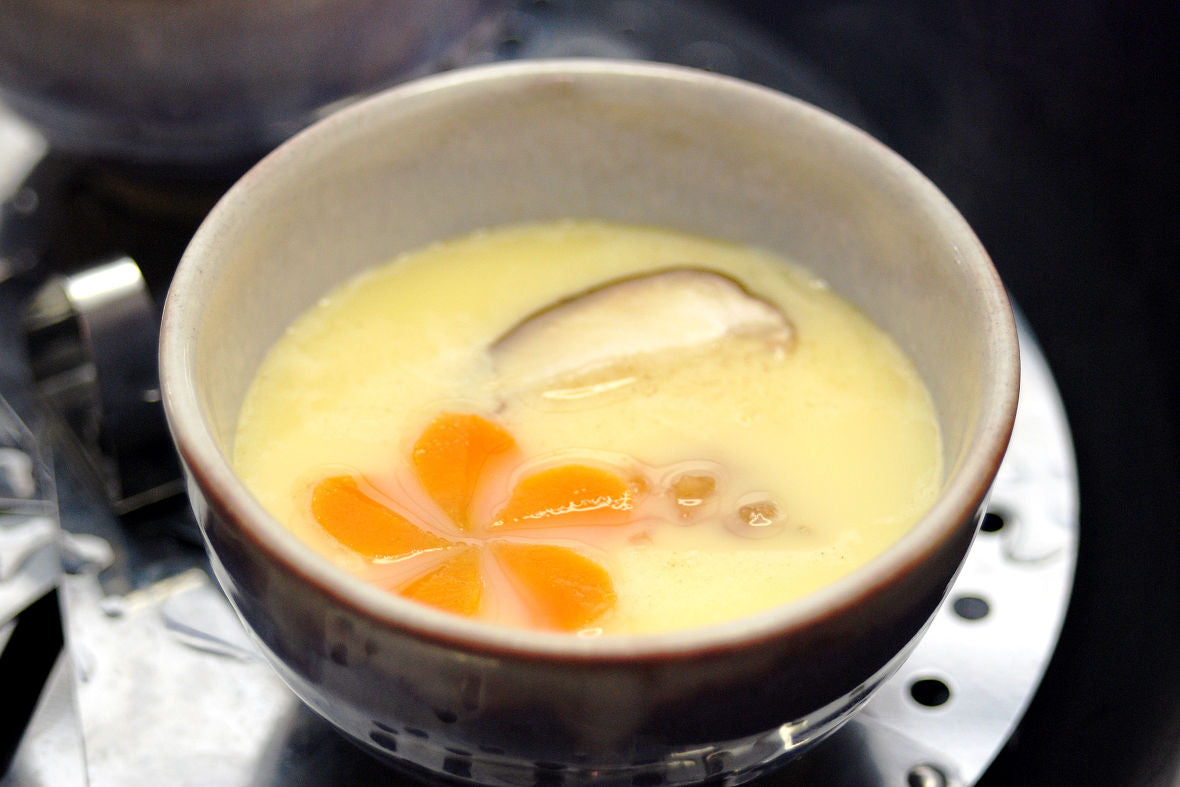 Let's add a Japanese touch to your Chawanmushi!