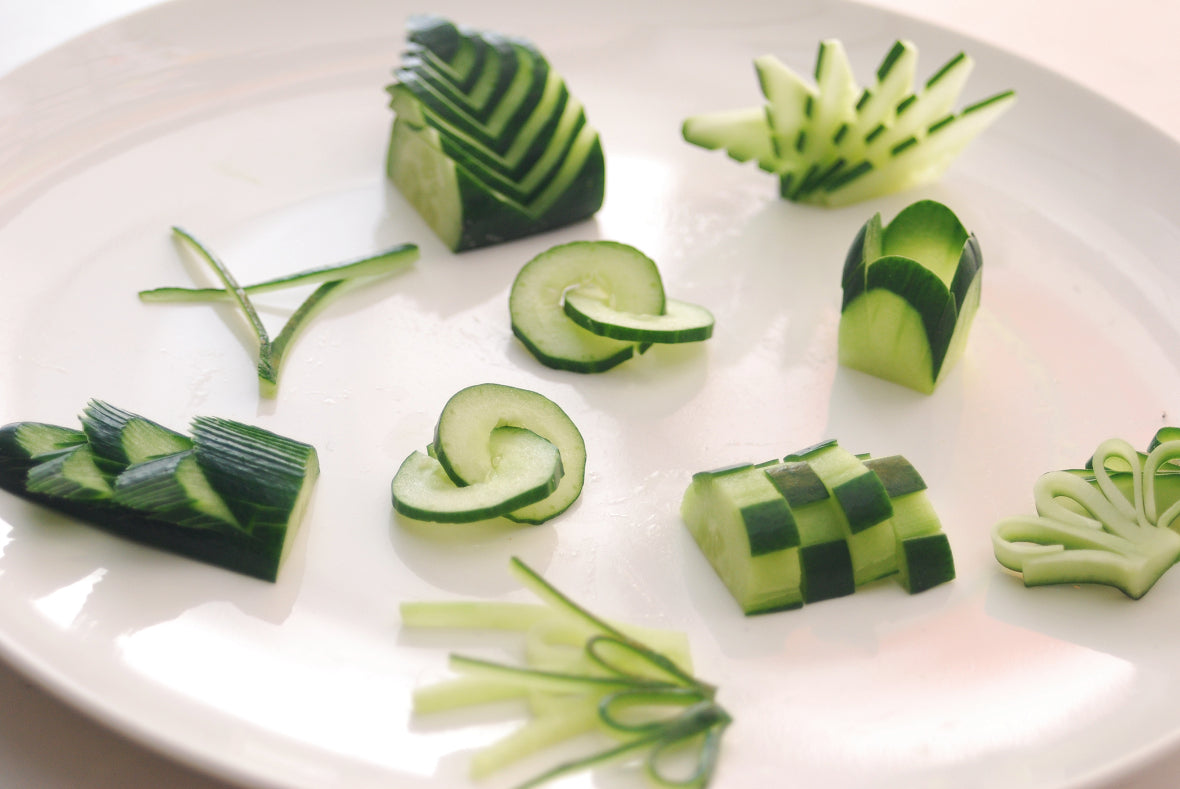 An example using cucumbers