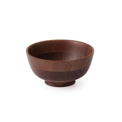 HIKIYOSE Wooden Soup Bowl