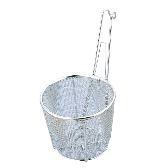 Shin-Etsu Stainless Steel Tebo Noodle Strainer (Flat-Bottomed)