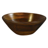 Kijihiki Zelkova Salad Bowl with Round Edge