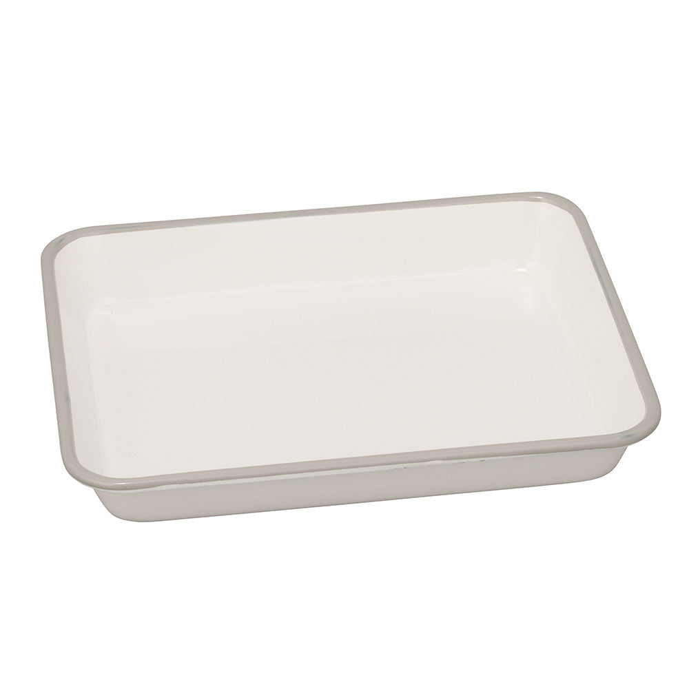Noda Horo Enameled Nestable Meal Prep Baking Tray Gray