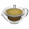 Akebono Tritan Teapot with Infuser (4 Colours) 280ml / Brown Teapots