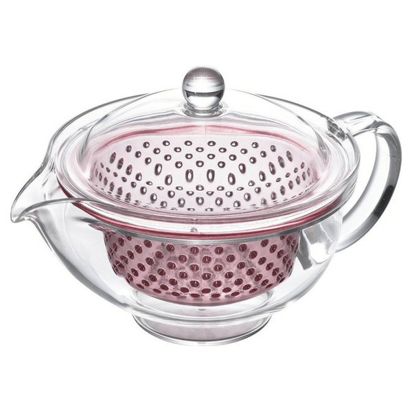 Akebono Tritan Teapot with Infuser (4 Colours) 280ml / Pink Teapots