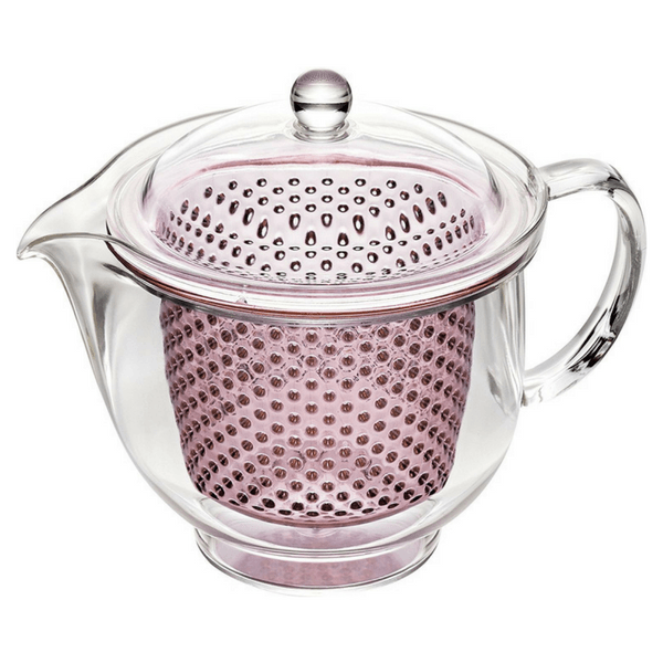 Akebono Tritan Teapot with Infuser (4 Colours) 480ml / Pink Teapots