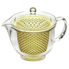 Akebono Tritan Teapot with Infuser (4 Colours) 480ml / Yellow Teapots