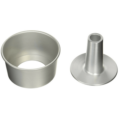 Aluminium Chiffon Cake Tin with Loose Base Pastry Moulds