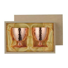 Asahi Copper Double-Wall Cold Sake Goblet 58ml Single (CNE963) Copper Drinkware