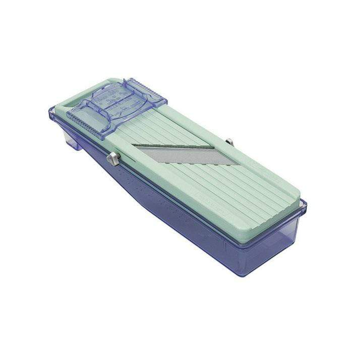 Benriner Japanese Mandoline Slicer with Catch Tray (2 Colours) Green / Whole Package Mandolines
