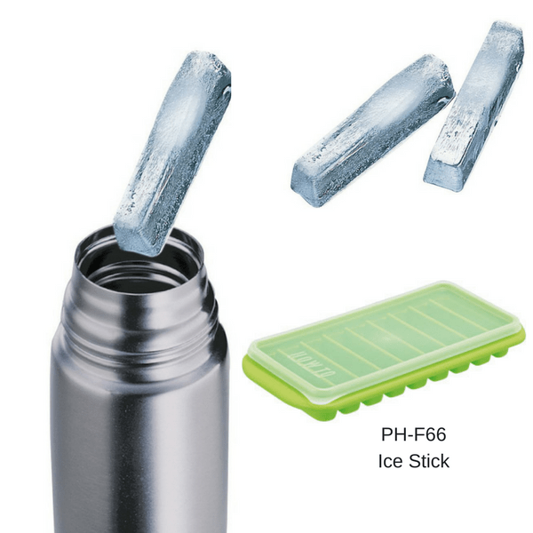 Ebisu Stackable Ice Cube Tray with Lid Ice Cube Moulds & Trays