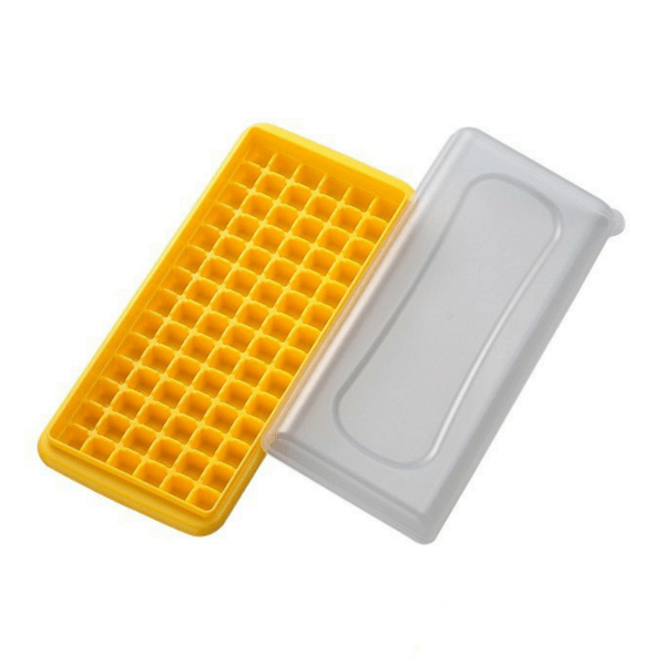 Ebisu Stackable Ice Cube Tray with Lid Mini Ice Cube (PH-F67) Ice Cube Moulds & Trays