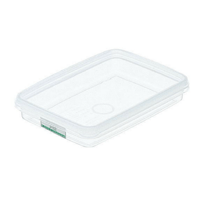 Entec Hi-Pack Rectangular Stackable Food Storage Container 167x117mm 167x117x36mm (S-21) Food Containers