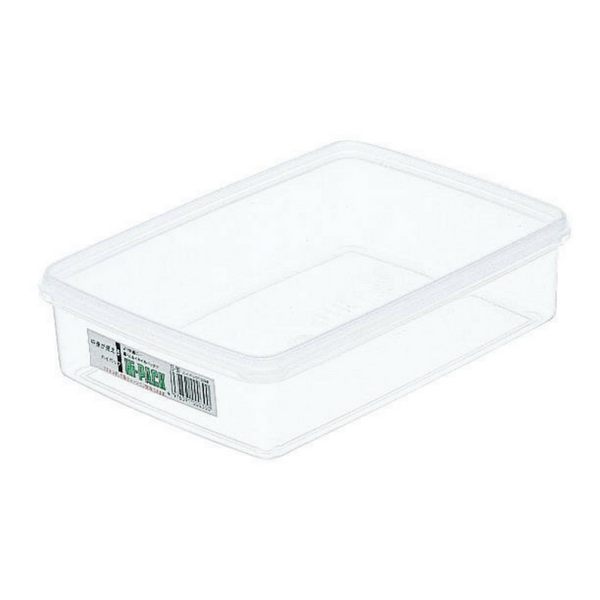 Entec Hi-Pack Rectangular Stackable Food Storage Container 232x167mm