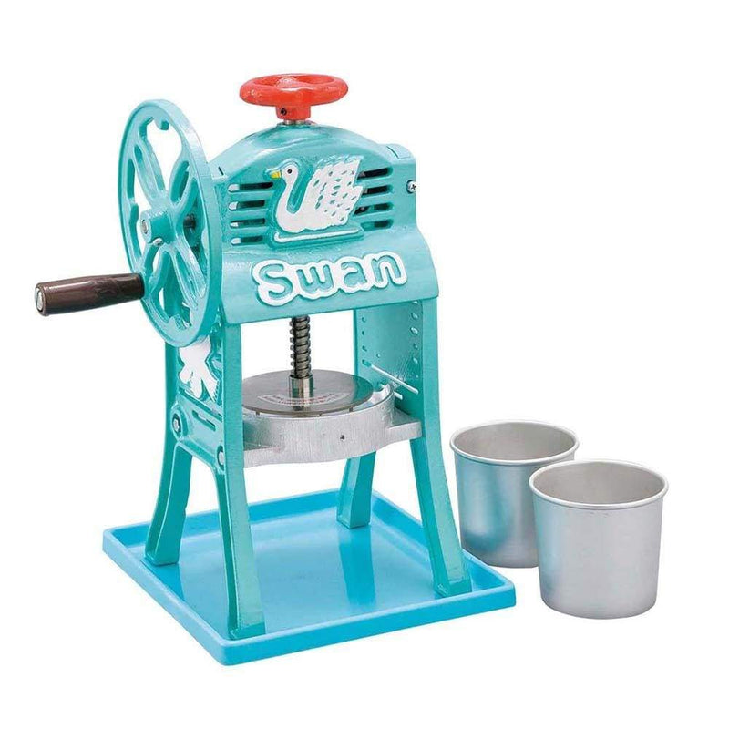 "Ikenaga SWAN mini Hand-operated Ice Shaving Machine ""Small Antarctic Deluxe"" Shaved Ice Machines"