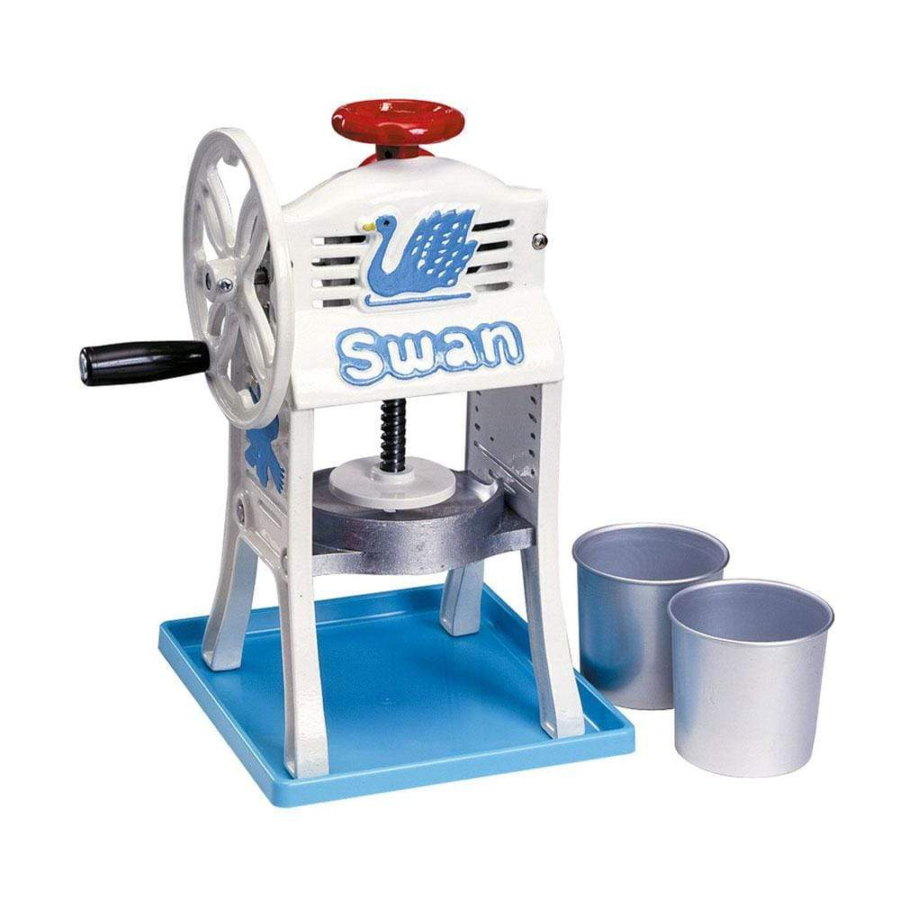 "Ikenaga SWAN mini Hand-operated Ice Shaving Machine ""Small Antarctic"" Shaved Ice Machines"