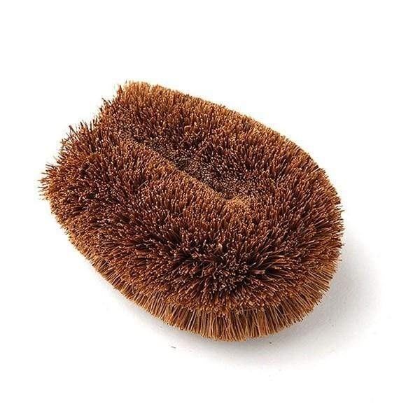 Kamenoko Tawashi The Original Natural Palm Fiber Dish Scrubber - Small Cleaning Brushes