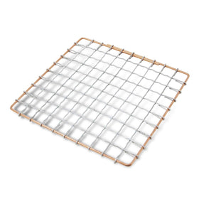 Marujyu Stainless Steel Barbecue Grill Intercrimp Woven Wire Mesh for Hida Konro Barbecue Grill Mesh