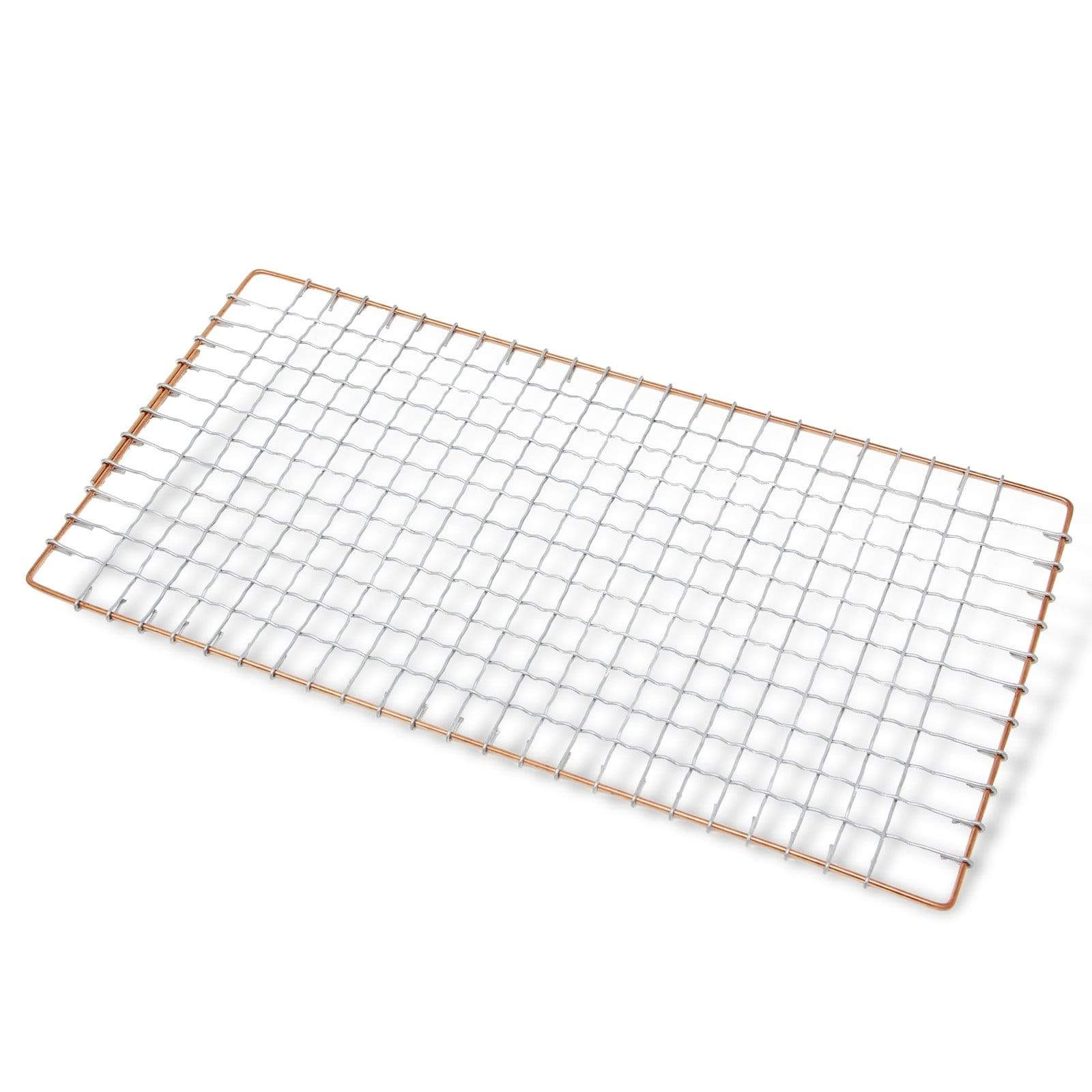 Marujyu Stainless Steel Barbecue Grill Intercrimp Woven Wire Mesh for Hida Konro (Rectangular) Barbecue Grill Mesh