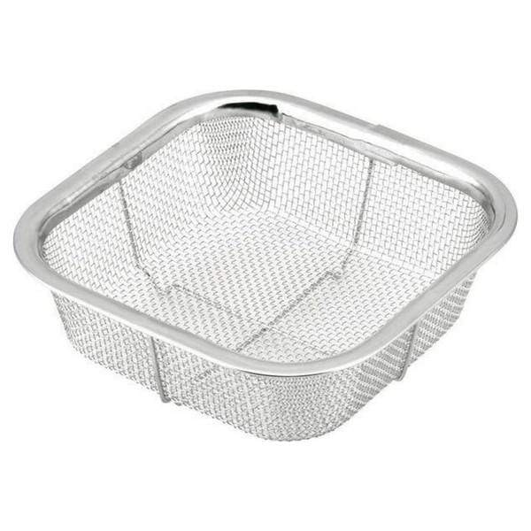 Minex Stainless Steel Square Mesh Colander 13.5cm Colanders