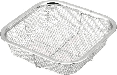 Minex Stainless Steel Square Mesh Colander 16cm Colanders